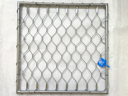 ferruled stainless steel rope mesh for railing,Balustrade on ...